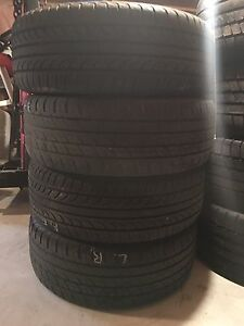 17 inch alloy Mazda wheels with new rubber