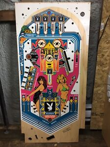 Bally playboy pinball playfield cpr new shipping to Canada / usa