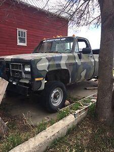 1985 3/4 ton parts truck