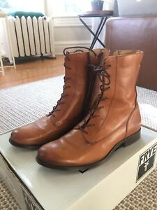 Tan FRYE ladies boots (size 10)