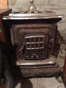 Old wood stove