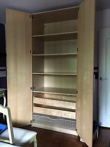 Cupboard for clothes organizer