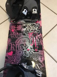 Ride Rapture women's snowboard 151 cm