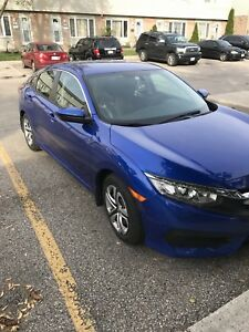 2017 Civic Lease take over! 148 B/W with a $1000 incentive.