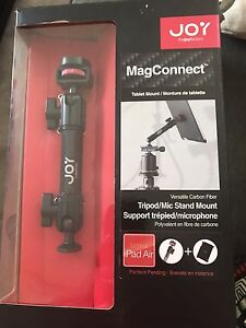IPAD AIR Tablet Mount for Tripod Mic Stand Joy Factory