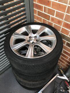 Subaru 18 inch wheels x  (4)