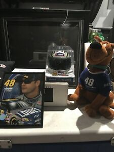 KIT JIMMY JOHNSON NASCAR  HELMET,Ourson,cadre