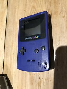 Game boy colour with two games