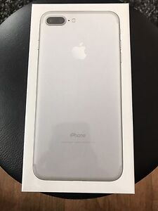 Brand new sealed iPhone 7plus 256GB silver