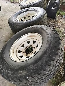 4x4  tyres 31/10r15 Mudgee Mudgee Area Preview