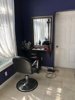 Space for Rent HairStylist