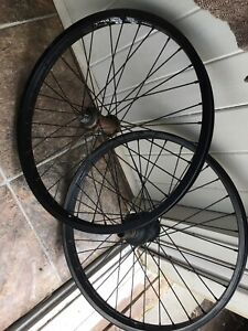 2 aluminium rims for BMX