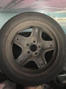 4 pneus été Hankook - P225 - 50R17 - Montés sur rim !