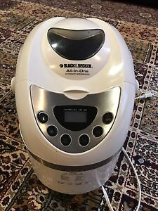Black and decker all in one bread maker