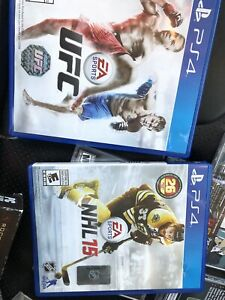 PS4 NHL 14 & UFC by EA