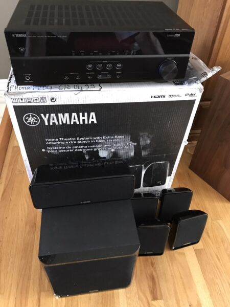 Brand NEW YAMAHA YHT-1810 Hdmi Receiver/ speakers