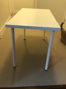 White Ikea table- brand new- used once