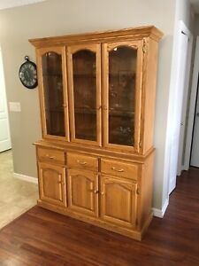 China cabinet, Dining Table, chairs