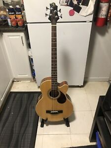 Greg Bennett acoustic Bass Guitar