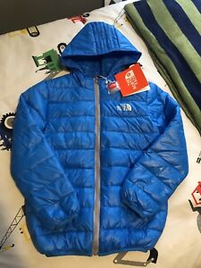 Northface downfilled coat boys 7/8