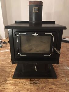 Osburn Wood Stove (with blower)