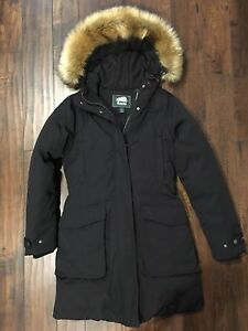 Roots down-filled Parka size small