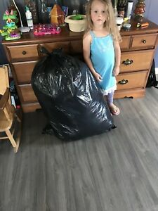 Big bag of clothes