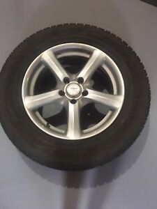 Ford Edge winter tires and rims