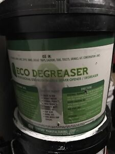 Sewer cleaner/ Degreaser