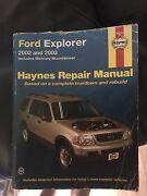 Ford Explorer 2002 and 2003 repair manual Haynes Watanobbi Wyong Area Preview