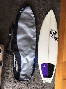 """Great Condition - 5'6"""" DHD Surfboard & board bag for Sale"""