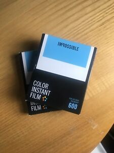 Impossible 600 Film for Polaroid Instant Camera
