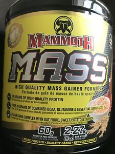 Mammoth Mass - Maple and Oats