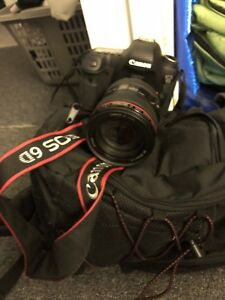Canon 6D + Lens and Bag