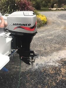 1999 Mariner outboard 75hp Newstead Launceston Area Preview