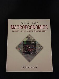 Macroeconomics: Canada in the global environment