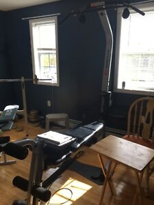 Bow flex home gym