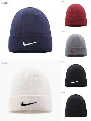 2019 Nike Adult Knitted Mens Urban long Peak Stretch Fit Beanie Hat  Winter Cap