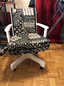 Stylish Updated Wood Chair
