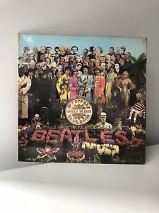 Vinyl Record:The Beatles - Seargeant Pepper's Lonely Hearts Club