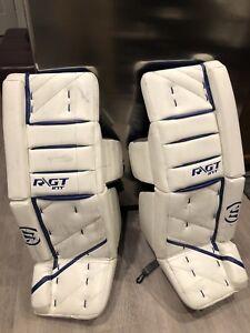 Warrior RGT Goalie Pads - 31+1 a650e4f86