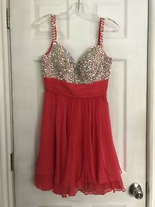 Designer Bright Pink Dress
