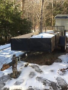 4x8 homemade utility trailer