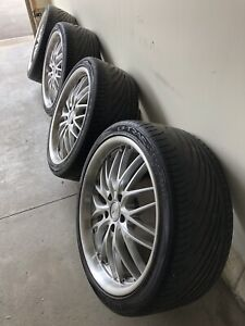 245 35 R19 Rims and tires