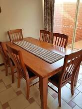 SOLID TIMBER 7PCE DINING SUITE Drysdale Outer Geelong Preview