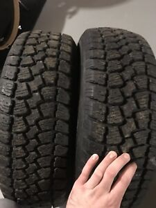 Two winter tires 195/65R15