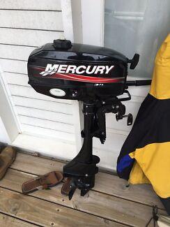 3.3hp Mercury outboard