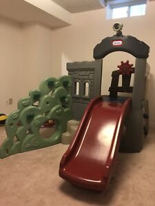 Little Tikes Slide and Rock Climber
