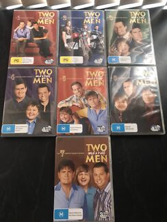 Two and a half men DVDs