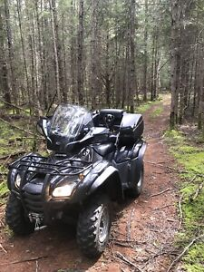 Honda fourtrax 420 ES 2008 injection ( 1500km )